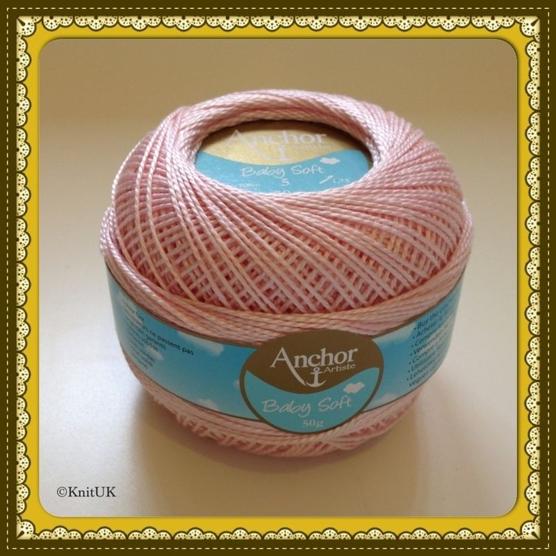 anchor artiste soft baby pink