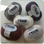 SMC Select Silk Wool - Aran (50g) - Luxurious Blend Knitting Yarn