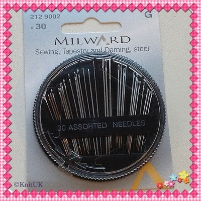 Sewing, Tapestry and Darning Needles - Milward