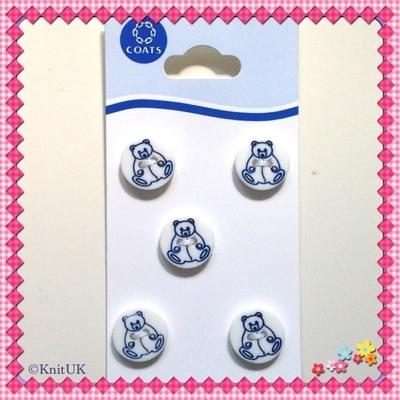 Children Buttons - 12.5mm - 5 pcs/card (Coats)