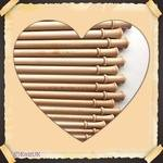 "Brittany Knitting Needles - 14"" single point - birch wood. From"