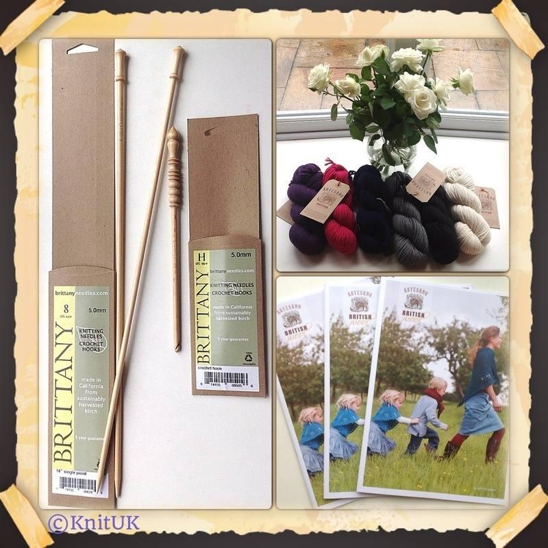 artesano wool pattern needles and hooks