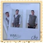 WYS Bluefaced Leicester DK Men. Knitting (leaflet printed out by WYS in A4 paper)