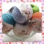 DMC Natura Just Cotton (50g) - 100% Cotton (4ply thickness)
