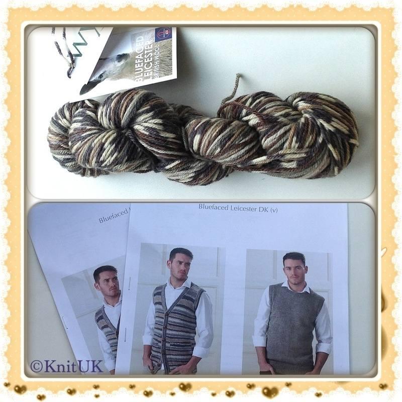 wys bfl owl yarn and men pattern