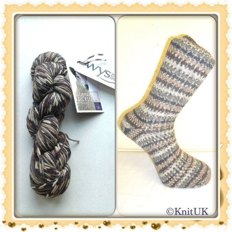 wys bfl owl yarn and socks