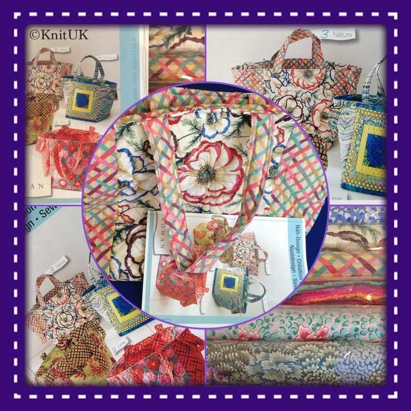 rowan bag and fabrics