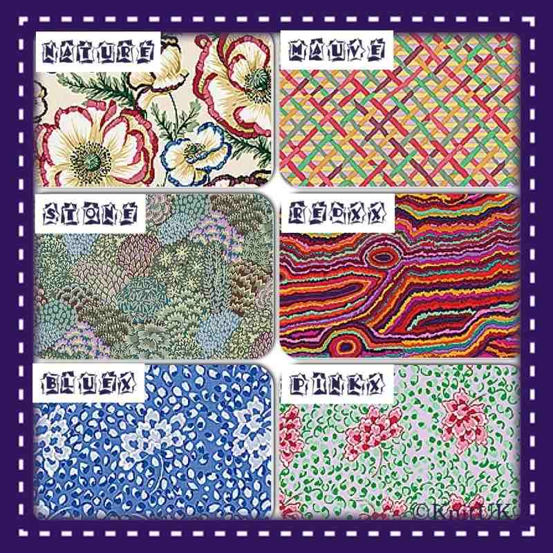 rowan fabrics 6 colours