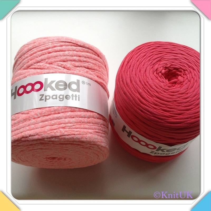 Hoooked Zpagetti Yarn DMC Knitting & Crochet Free ...