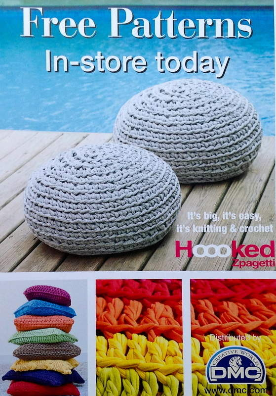 Free Crochet Patterns Zpagetti : Hoooked Zpagetti Yarn DMC Knitting & Crochet Free ...