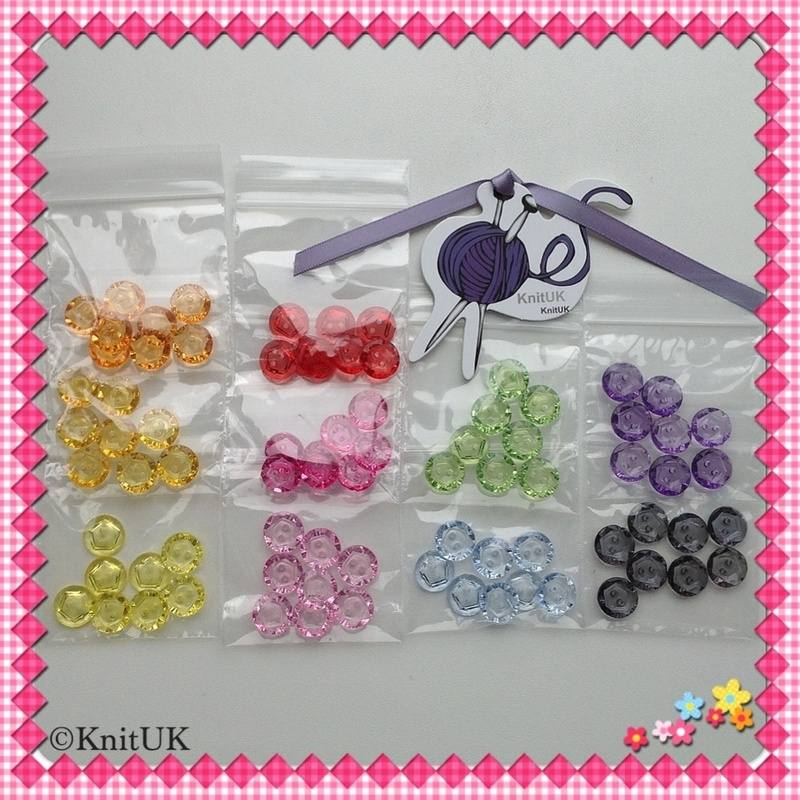 buttons acrylic bags
