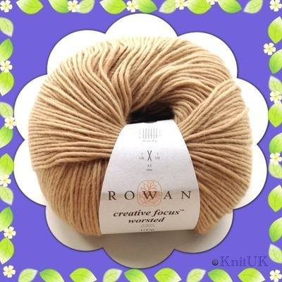 Rowan Creative Focus Worsted - 75% wool / 25% alpaca (100g) - Aran