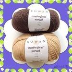 Rowan Creative Focus Worsted (100g). 75% wool / 25% alpaca. Aran knitting yarn