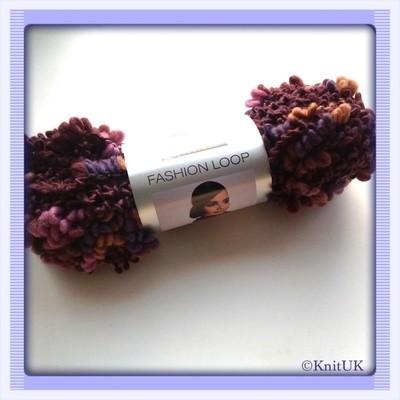 SMC Select Fashion Loop (100g): super chunky texture wool yarn / FREE CROCH