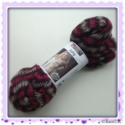 SMC - Schachenmayr Original Lofty (100g) + Scarf Design. FREE pair of knitt