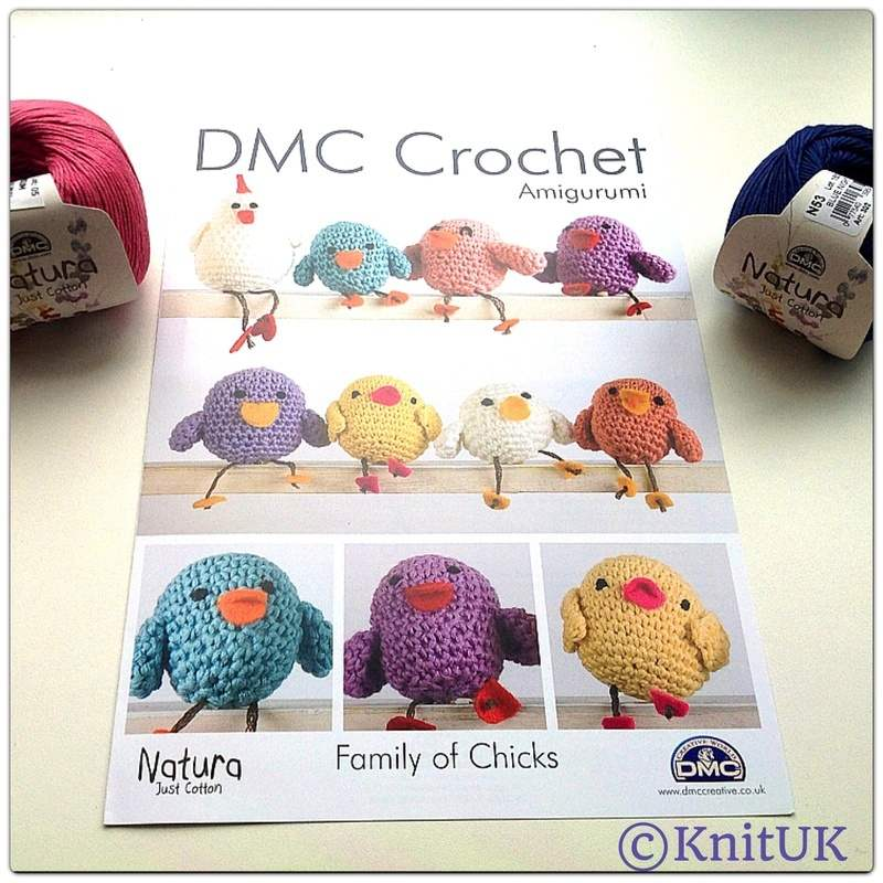 Free Crochet Pattern Leaflets : DMC Crochet Amigurumi. Family of Chicks - Amigurumi ...