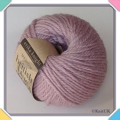 erika knight British Blue Wool (25g) - Pure British Bluefaced Leicester Woo