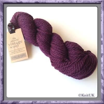 erika knight Vintage Wool (50g) - Pure British Wool (Aran)