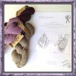 erika knight Loose Leaf Patterns - knitting leaflet: 2 designs using Vintage Wool