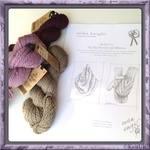 erika knight Loose Leaf Patterns - knitting leaflet: 2 designs using Vintage Wool