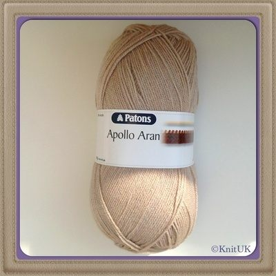 Patons Apollo Aran - 400g (Giant yarn ball)