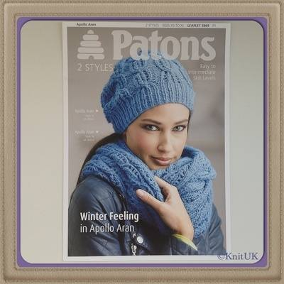 Patons - Winter Feeling in Apollo Aran - 6 pages / Knitting Leaflet - 2 Sty