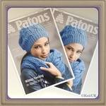 Patons Winter Feeling in Apollo Aran. 6 pages. Knitting Leaflet. 2 Styles: hat, snood & Ladies Jacket