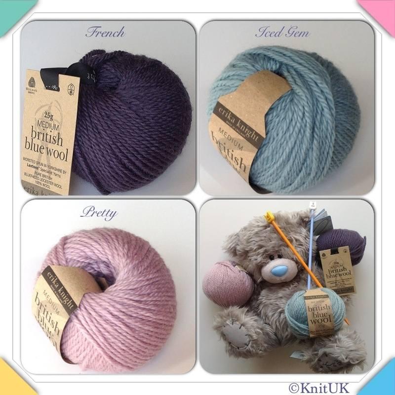 erika knight blue wool colours