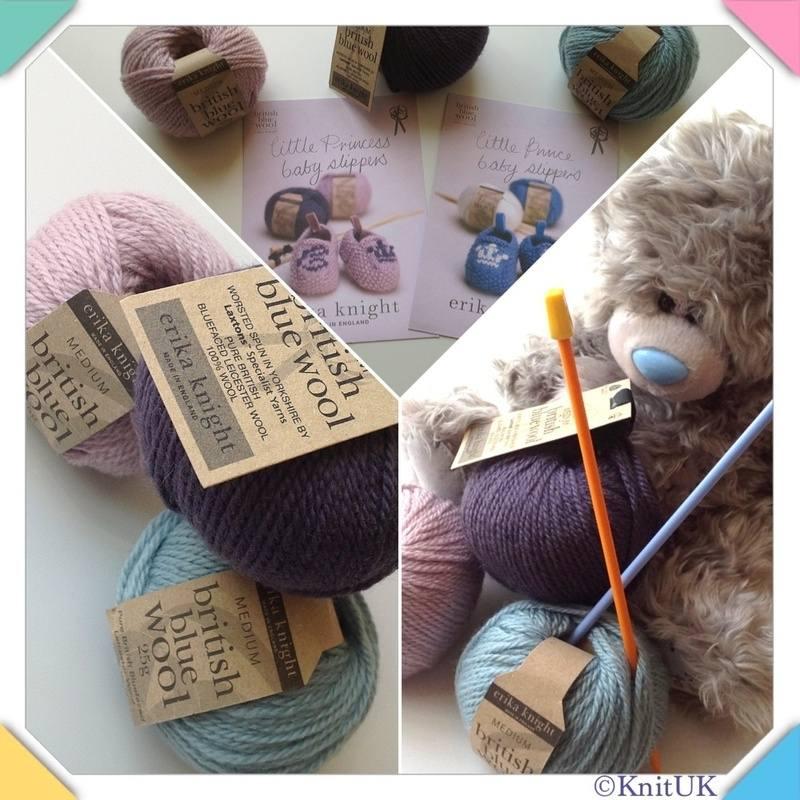 erika knight blue wool 3 pics