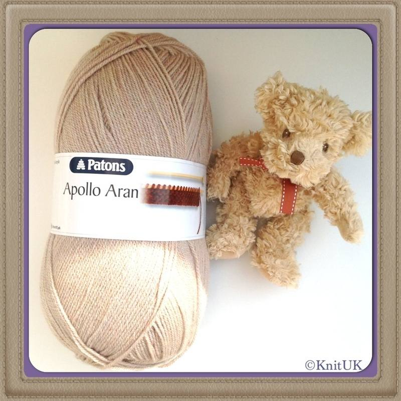 patons apollo aran bear