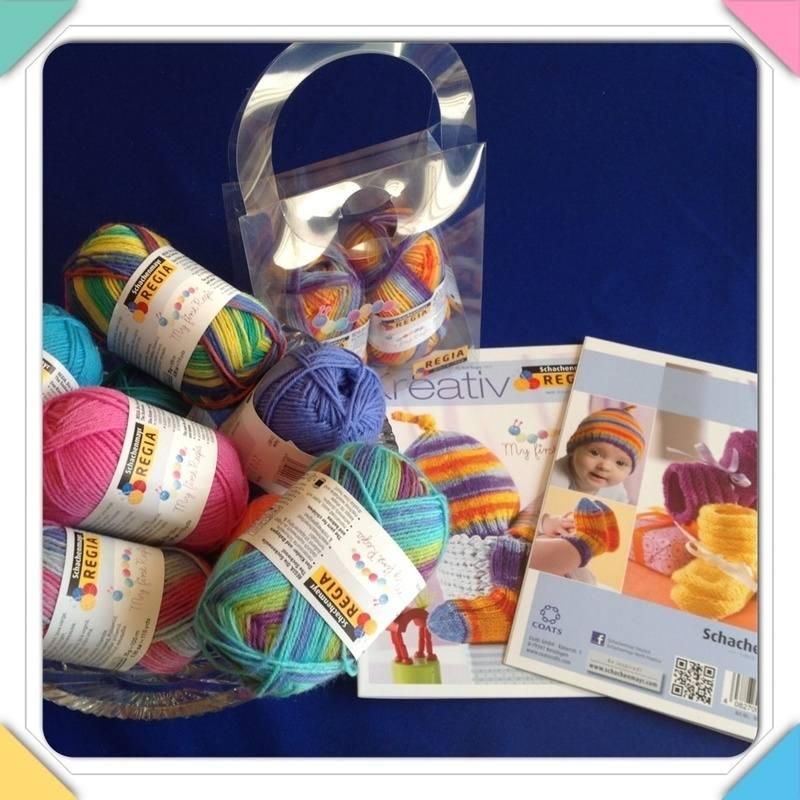 regia my first bowl yarn booklet bag