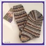 WYS Socks - Bluefaced Leicester Birds Socks Collection - size 4 - 7 (100% British wool )