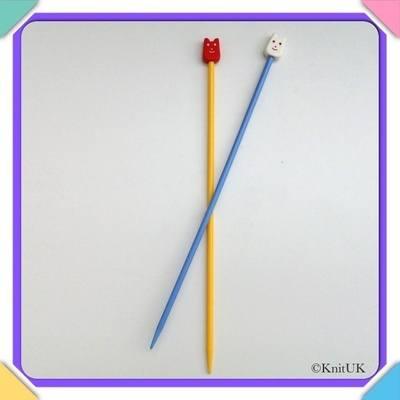Pony Children's Plastic Knitting Pins