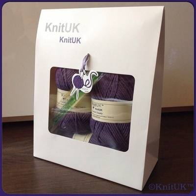 Knitting Kit - KnitUK Cornish Kit Scarf n.1 & Hand Warmers