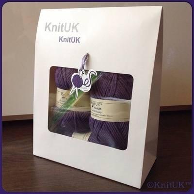 Knitting Kit - KnitUK Cornish Kit Scarf n.1 & Hand Warmers
