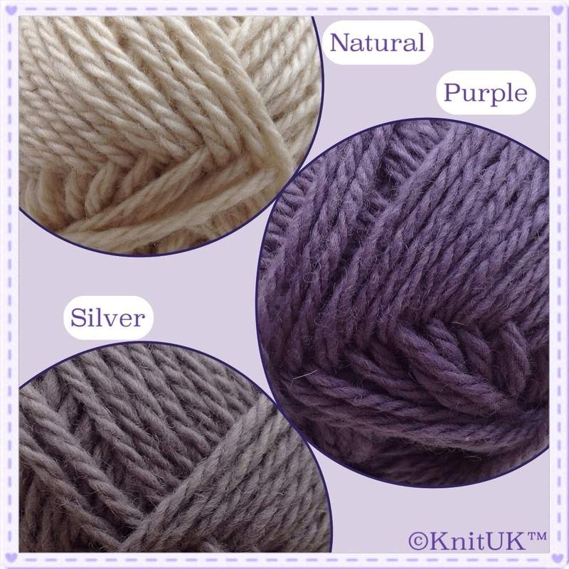 KnitUK cornish yarn colours