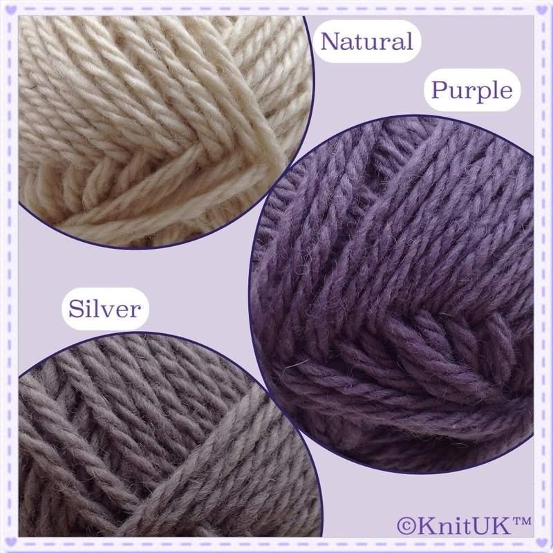 KnitUK cornish yarn colours