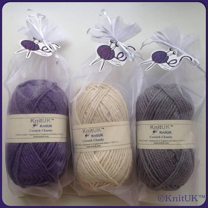 KnitUK cornish yarn organza
