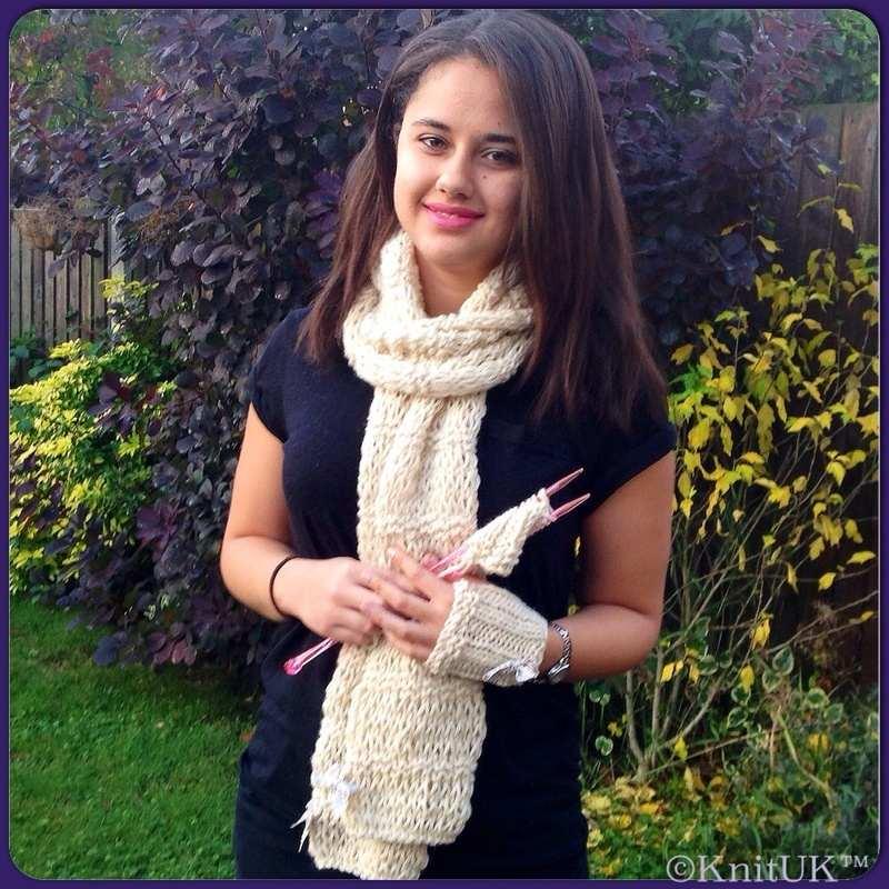knitUK scarf n1 fla