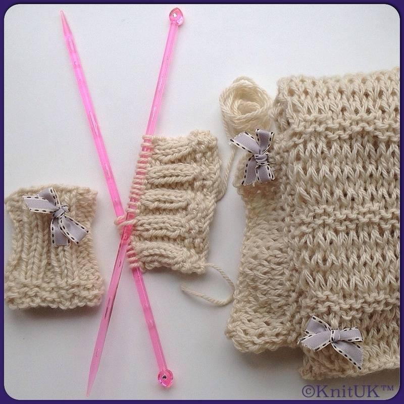knituk cornish kit scarf and hand warmer