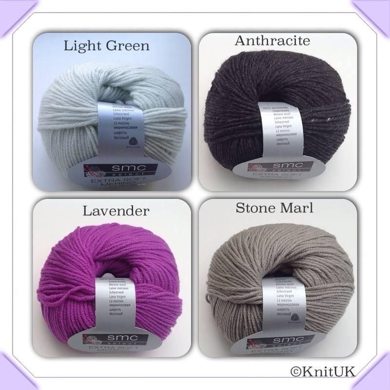 smc extra soft merino colours