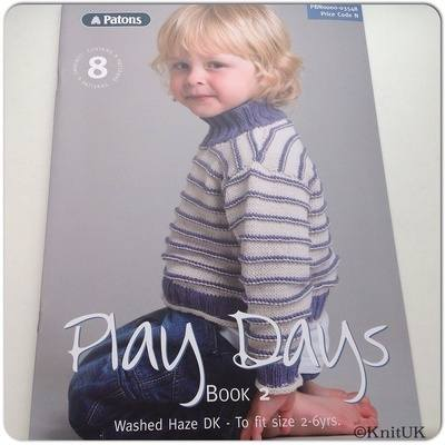 Patons Play Days - Book 2 ( Book 03548) - 8 patterns, 32 pages
