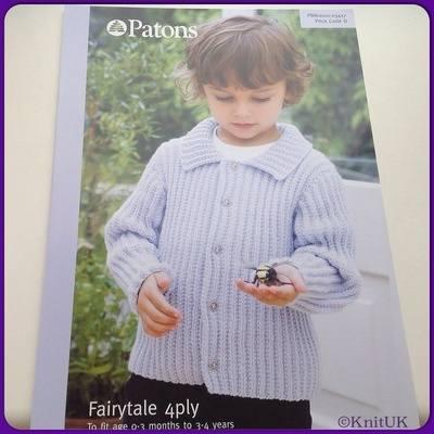Patons Fairytale 4 ply (Leaflet): Jacket