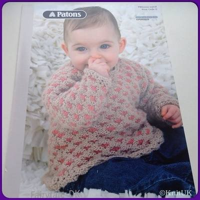 Patons Fairytale DK (Leaflet): Two- Colour Sweater (Experienced Skill Level