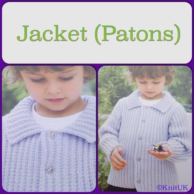 Patons Jacket leaflet