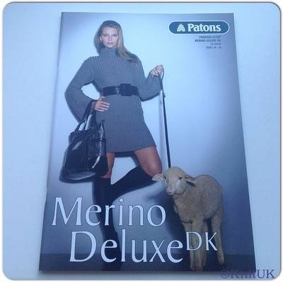Patons Merino Deluxe DK - 16 Styles: Knitting Collection designed by Jo Nat