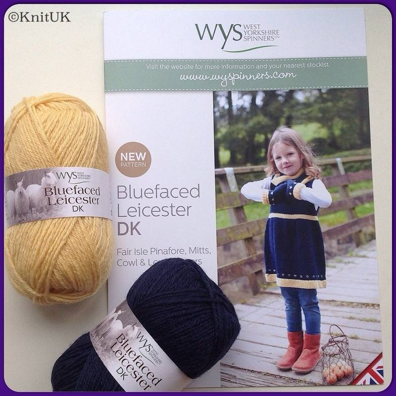 WYS Fair Isle Pinafore, Mitts, Cowl & Leg Warmers - West Yorkshire ...