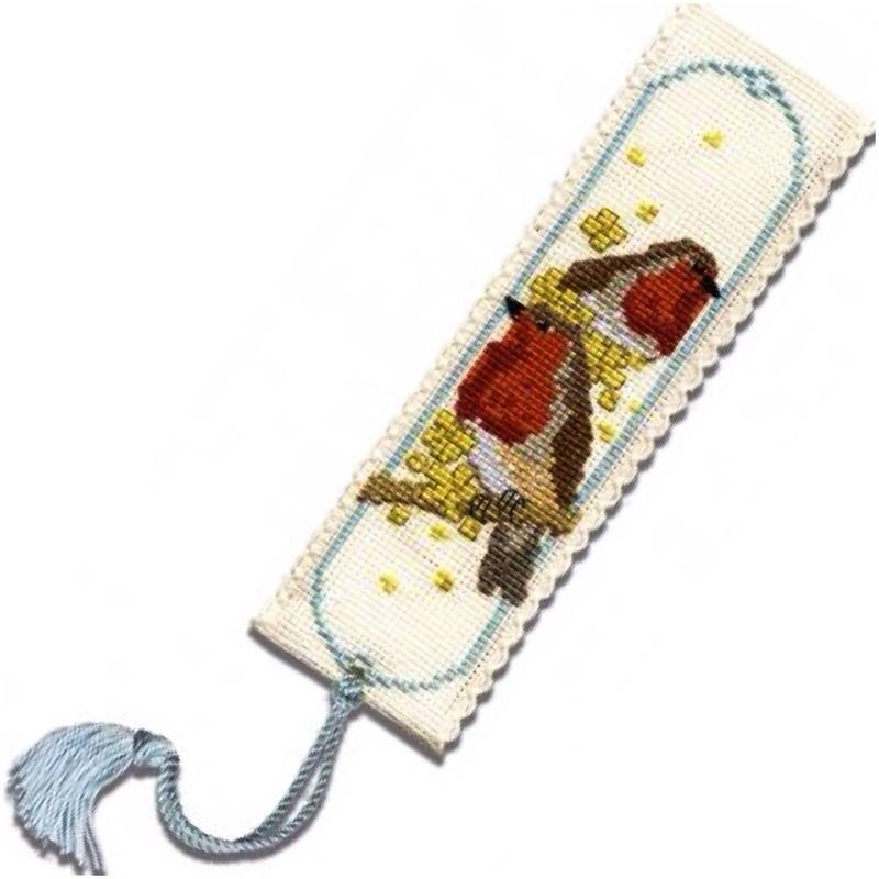 TH bookmark tassel robins