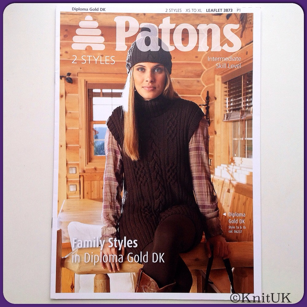 Patons - Family Styles in Diploma Gold DK - 8 pages / Knitting Leaflet - 2