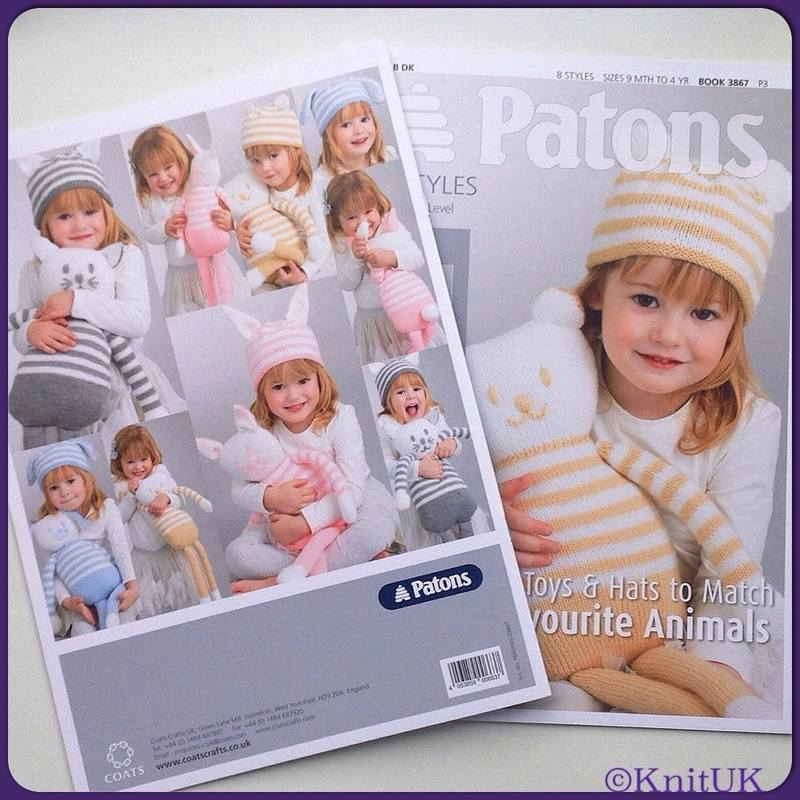 patons book 3867 toys & hat f&b